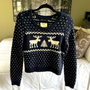 Abercrombie & Fitch   Christmas Sweater
